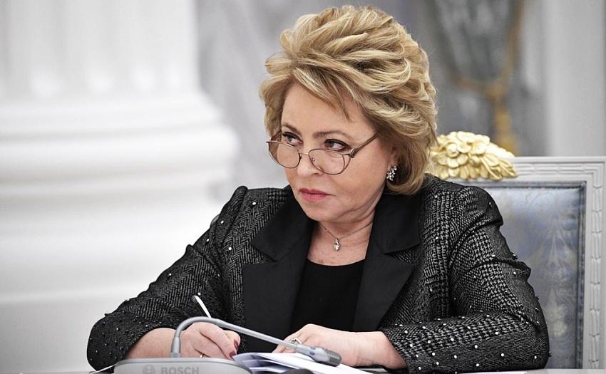 Спикер сената Валентина Матвиенко в понедельник прилетит в Читу - источник