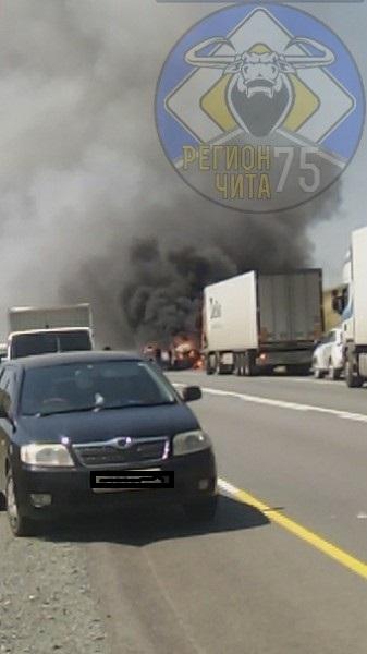 В ДТП на трассе Чита-Иркутск погибли четыре человека