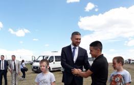 Жители Краснокаменского района выбрали врио своим тотемом