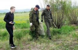 Сапожников пригласил читинцев на общегородской субботник
