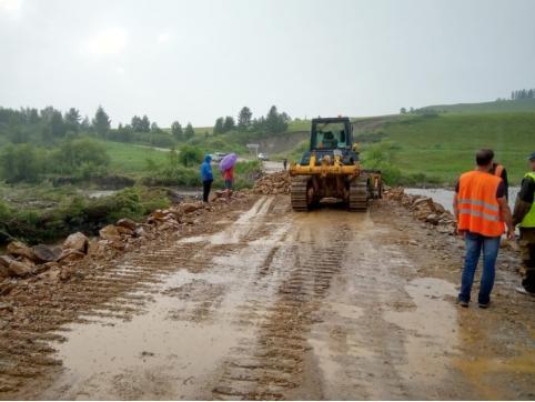 Проезд в Тунгокоченский район Забайкалья восстановили после наводнения