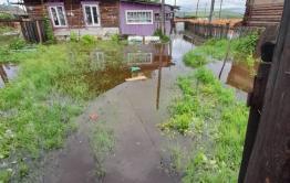 Сёла Газ-Заводского района в Забайкалье отрезаны от райцентра из-за наводнения