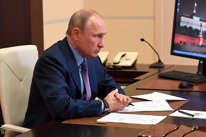 Путин поручил оперативно помочь Забайкалью в борьбе с COVID-19 (видео)
