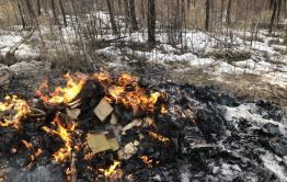 В селе Новый Акатуй представители местной администрации сожгли сотни книг о героях Великой Отечественной войны