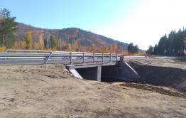 На реке Сыпчегур построен новый мост
