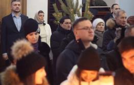 Александр Осипов –четвертый руководитель региона, встречающий Рождество в главном храме Забайкалья