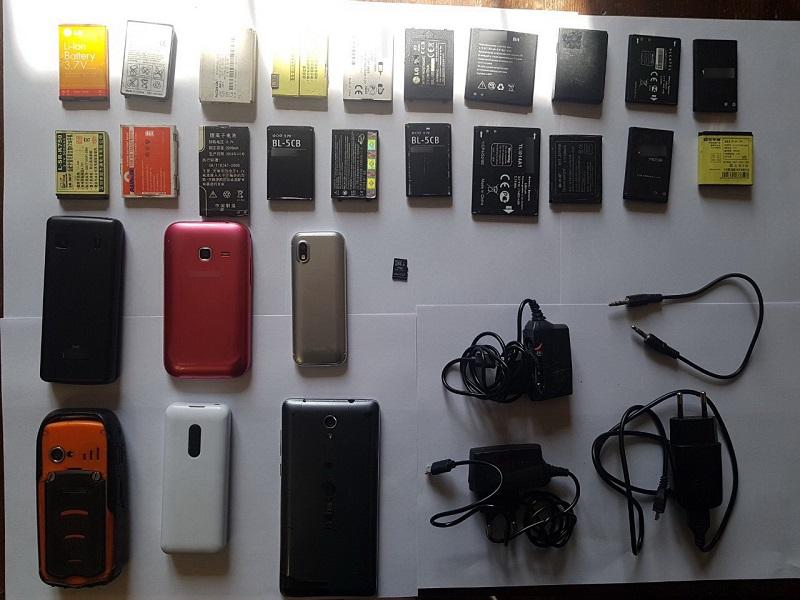 Шесть мобильников и двадцать батарей к ним пытались провезти в лечебно-исправительное учреждение в Чите