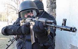 В Забайкальске проходит антитеррористическая операция