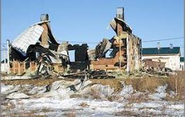 Дом для переселенцев в Аксеново-Зиловском подожгли