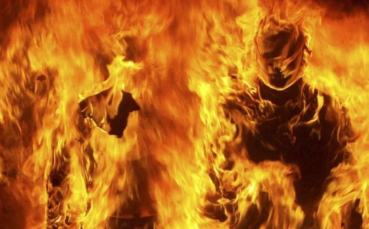 Председатель ДНТ «Серебряный ключ» заявил о самосожжении