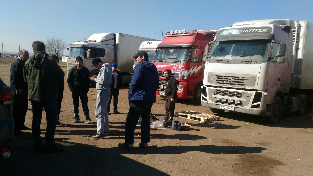 Забастовка дальнобойщиков в Забайкалье набирает обороты