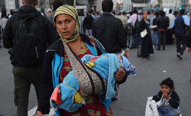 Популяция цыганок-попрошаек резко выросла в Чите