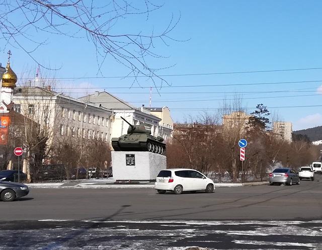 «Было – Стало»: Чита, улица Горького