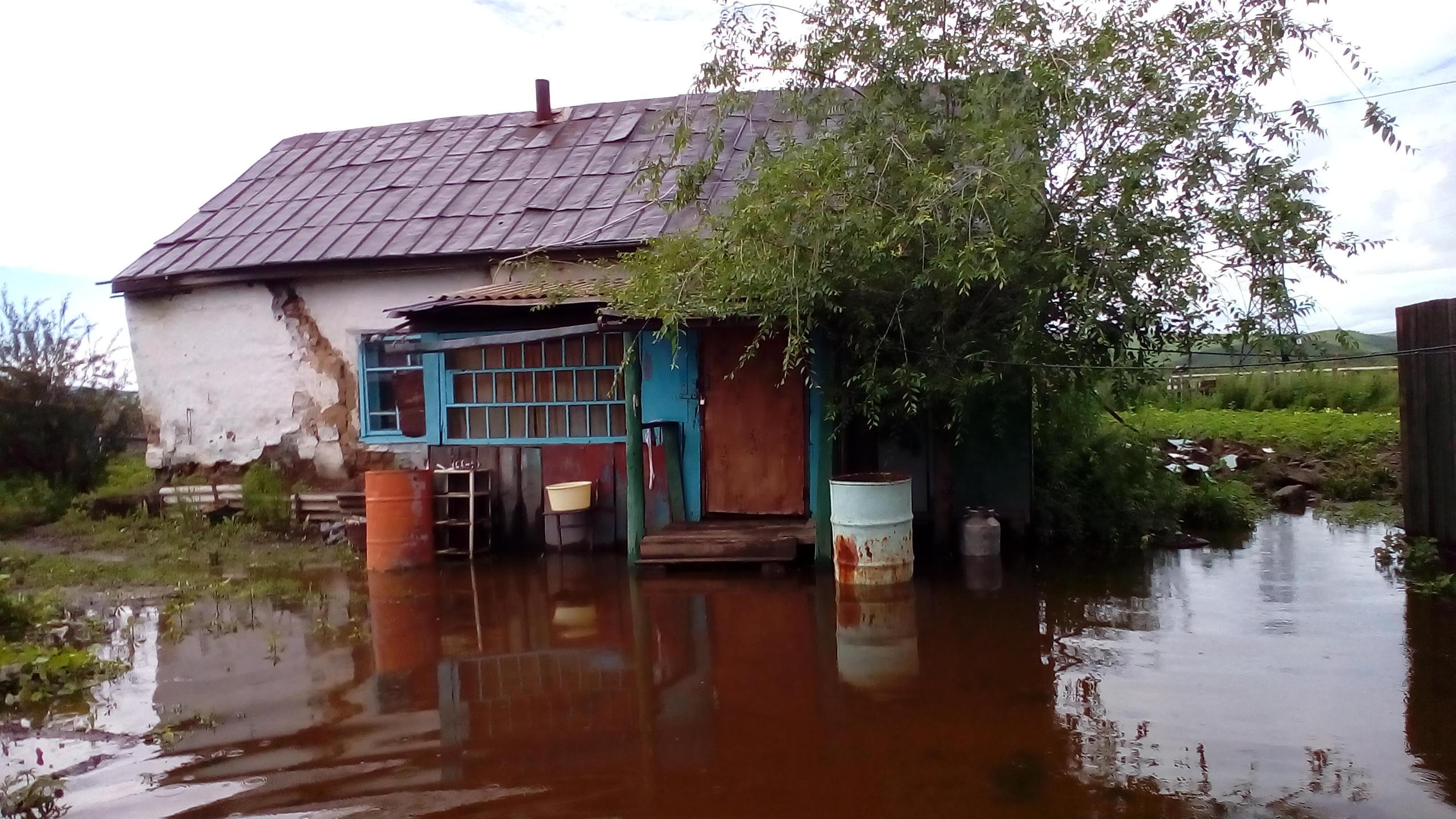 Списки потерявших имущество от потопа в Забайкалье сформированы на 80%