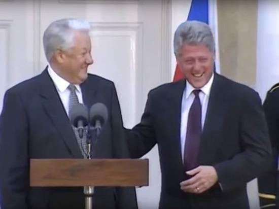 Демократом и другом США назвал Путина Ельцин