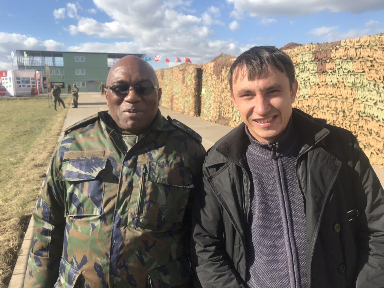 Военный атташе из Мозамбика высоко оценил военные учения на Цуголе