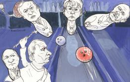 История правленияЖдановойв карикатурах