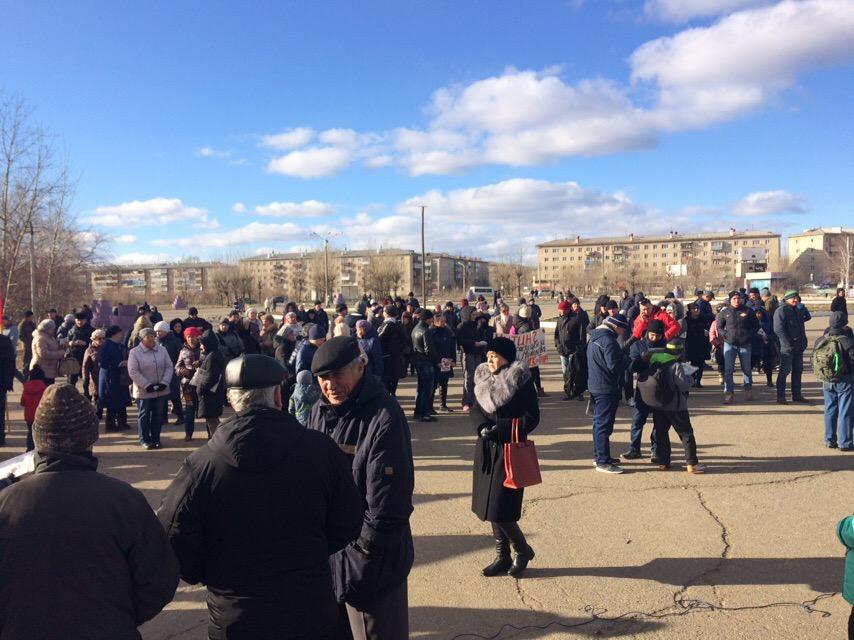 Михалёв, уйди вон - митинг против главы Читы собрал больше 150 человек