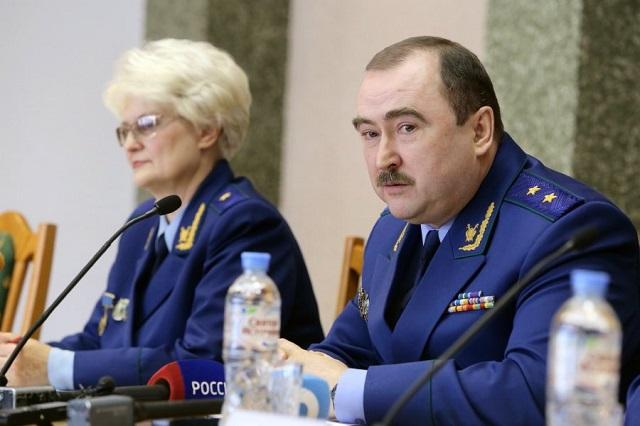 В Новосибирской области в отставку отправлен экс-прокурор Забкрая Владимир Фалилеев