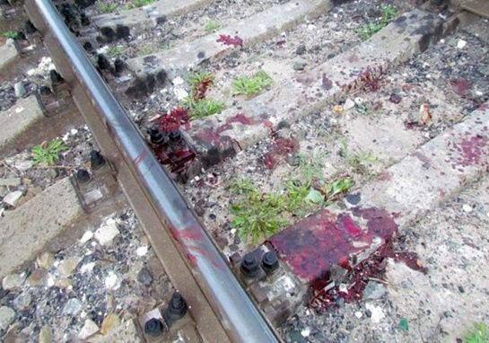 Пьяного жителя Хушенги сбил поезд