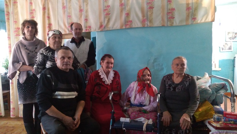 Сидоровне из Забайкалья исполнилось 100 лет! (Видеосюжет