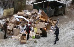 Читинкапожаловалась «Вечорке» на мусор магазинов из-за которого случился пожар