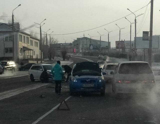 ДТП: на Ленина столкнулись две иномарки