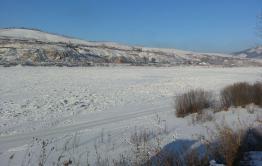Жители сел Сретенского района отрезаны от мира из-за отсутствия ледовой дороги