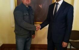 Александр Осипов воспользовался приглашением «Вечорки» и отправился праздновать Сагаалган в село Цаган-Оль