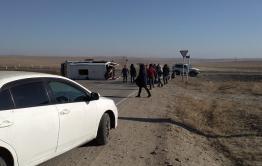 Источник: перевернувшаяся маршрутка шла по маршруту Цаган-Оль - Чита