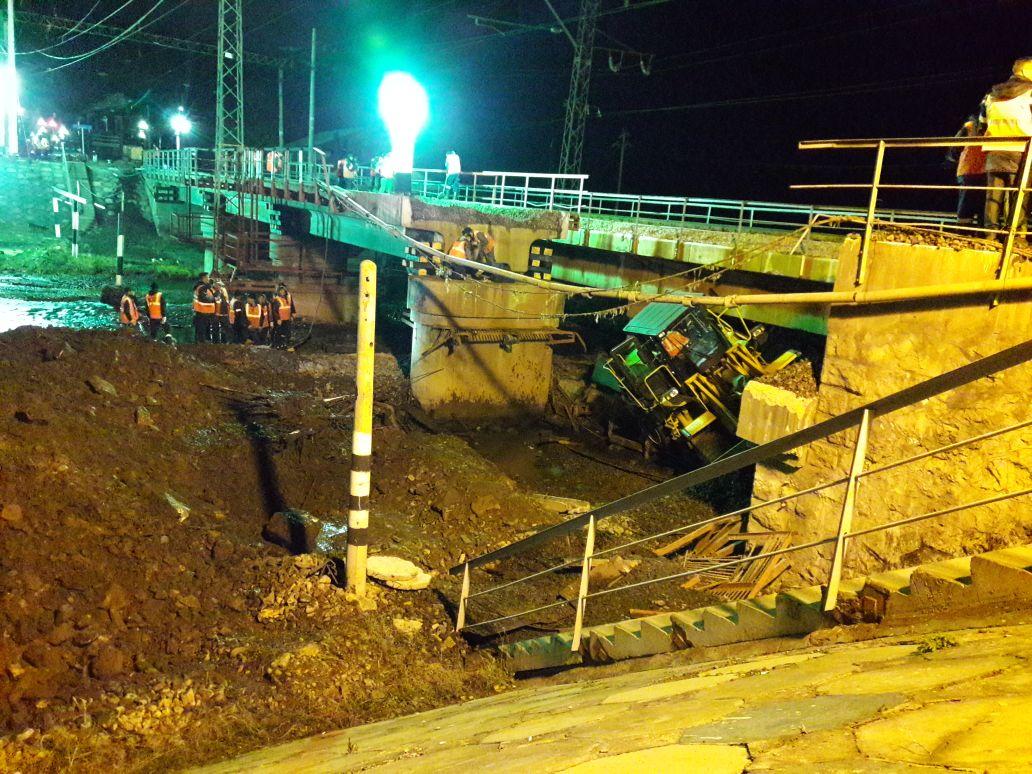 Трехжелезнодорожников в Забайкалье осудили за обрушение моста, похоронившего двух работяг