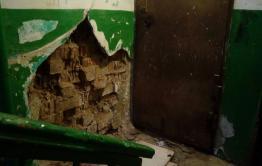 В Чите на КСК обрушились стены подъездов жилого дома