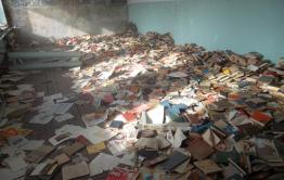 Сотни книгоказалисьбесхозными в селе НовыйАкатуй