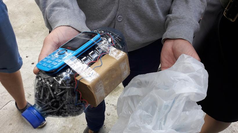 Читинец принес в полицию «взрывное устройство»