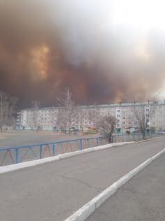 Апокалипсис подкрался незаметно. Новоорловск Агинского района, 19 апреля