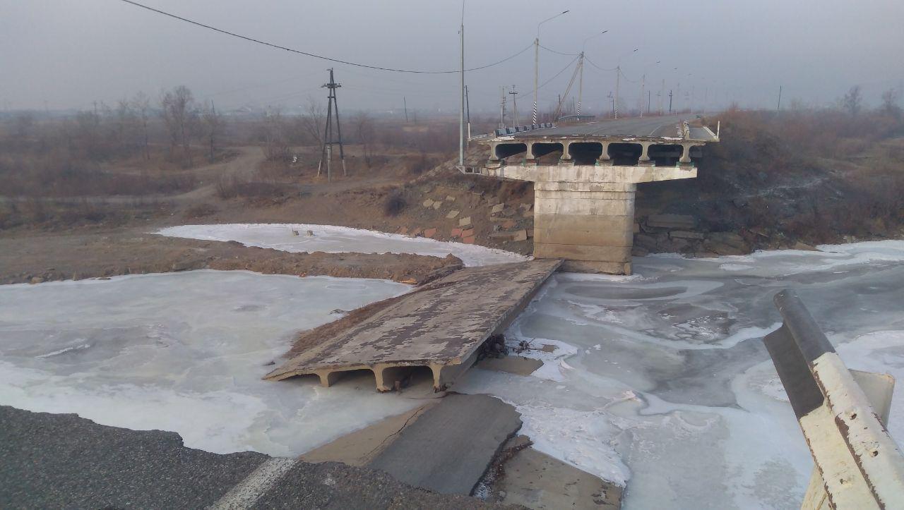 Так сегодня выглядит Каштакский мост, снесенный наводнением в 2018-м. 29 ноября