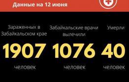 Коронавирус в Забайкалье: 66 зараженных за сутки, еще двое скончались