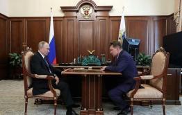 Миллер обсудил с Путиным газификацию Забайкалья