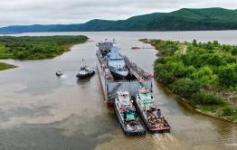 Корабль, названный в честь Алдара Цыденжапова, отправился во Владивосток