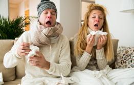В Забайкалье за неделю 1700 человек заболели гриппом
