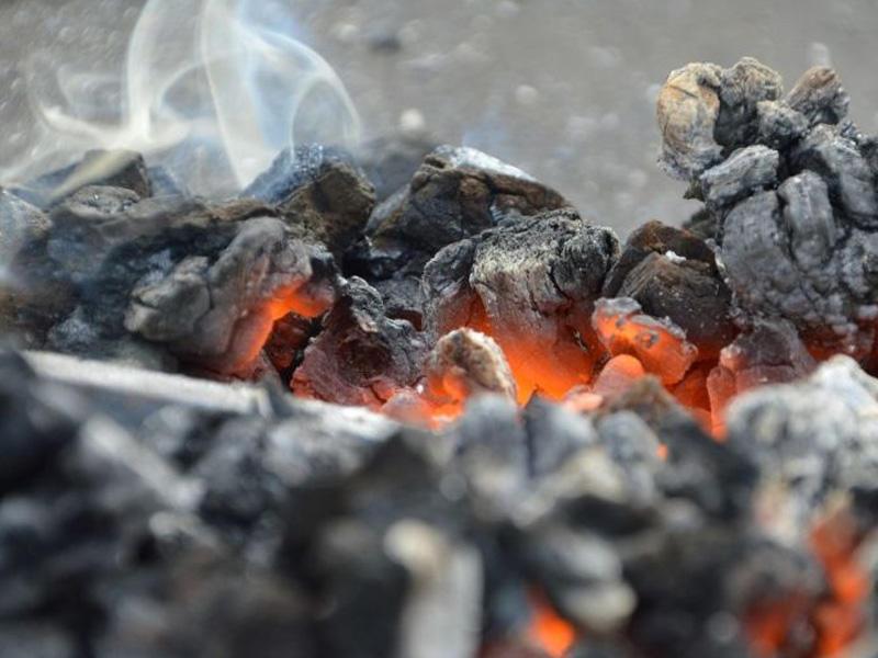 В Забайкальске пепел идет как снег