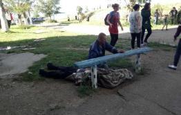 Госпитализированный мужчина с пожара в Даурии был сильно пьян