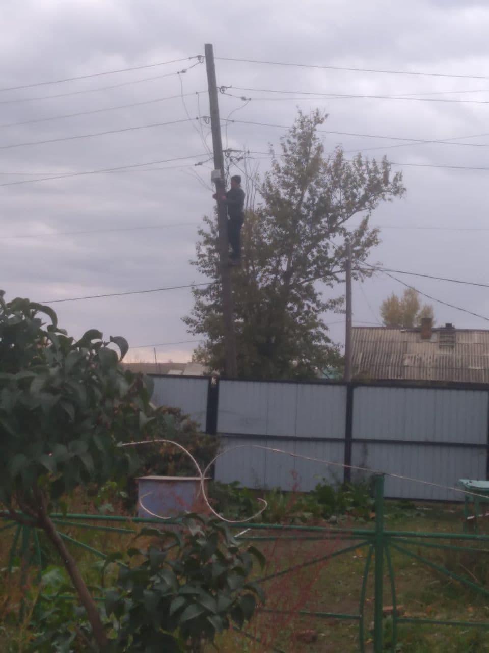 «Вечорка ЦУР»: Соседи незаконно подключились к электричеству — Шерловая Гора