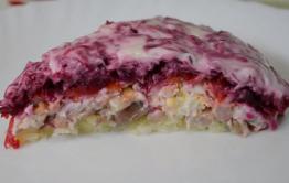 Селедка под шубой - самый опасный салат
