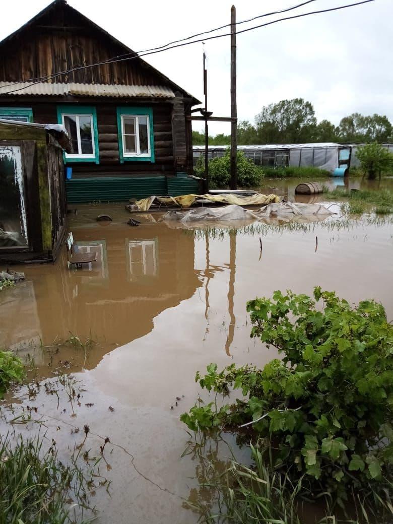«Вечорка ЦУР» Вода забрала мой дом, — жительница Балейского района