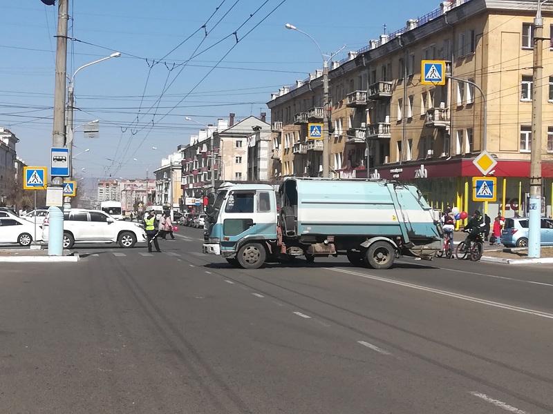 В центре Читы перекроют движение транспорта