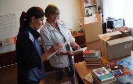 Библиомобиль едет по Читинскому району