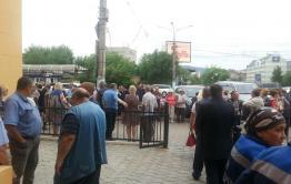 Около 1 тыс. человек пришли попрощаться с Анатолием Михалевым