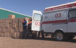 Больше 26 тысяч защитных костюмов перевезли через МАПП в Забайкальске