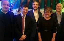 Жданова, Ильковский и Осипов встретились в московском ресторане